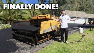 HOUSE UPDATE: MY NEW DRIVEWAY IS FINISHED! thumbnail