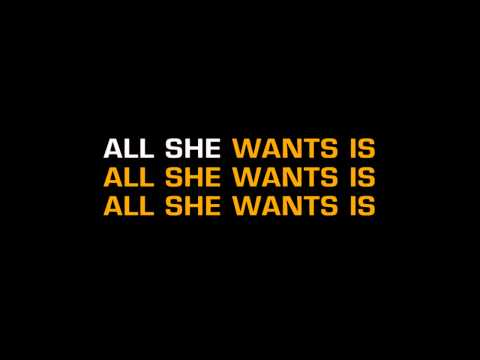 Duran Duran - All She Wants Is (Karaoke)