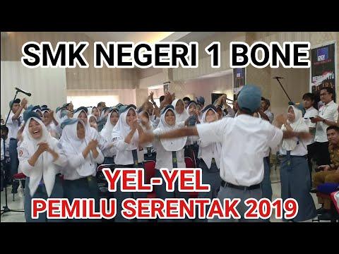 YEL-YEL PEMILU SERENTAK 2019: SMKN 1 BONE
