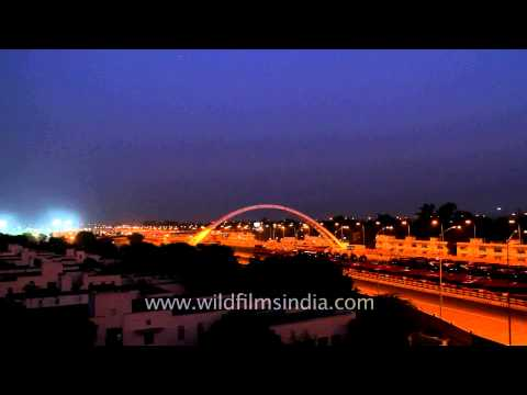 Delhi shining on the eve of Commonwealth Games 2010