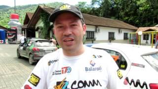 Leo Zettel   Após SS4   Rally de Pomerode 2016