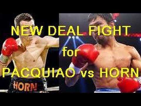 New deals for Jeff Horn vs Manny Pacquiao for mega fight in Australia