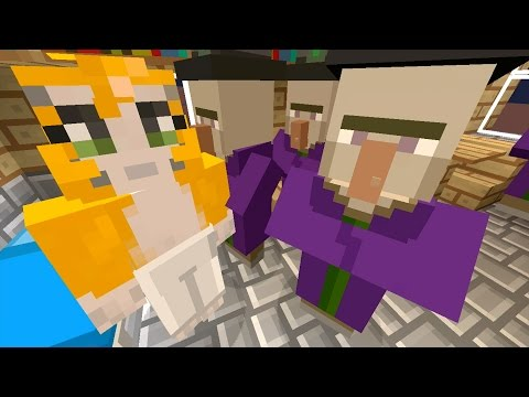 Minecraft Xbox - Stampy Flat Challenge - Witch Invasion (2)