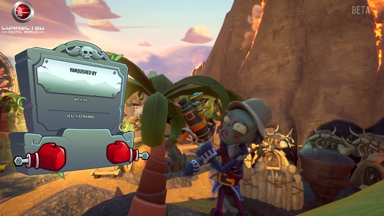 Plants Vs Zombies Garden Warfare  Gardens And Graveyards Seeds Of Time Plants Gameplay