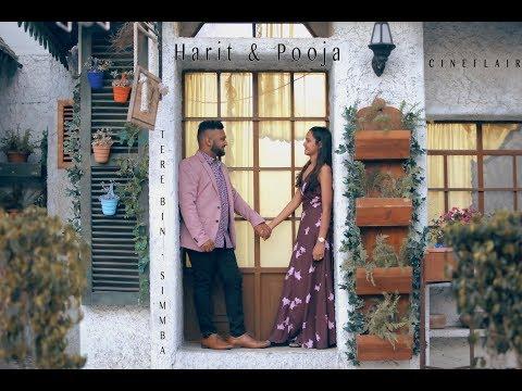 Tere Bin - Simmba | PreWedding | Harit + Pooja | PixoCity | CineFlair |