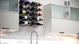 Vino Pins - MODERN Wall Mounted Metal Wine Racks