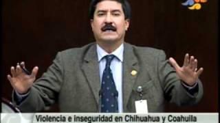 Debate sobre el clima de violencia en Chihuahua