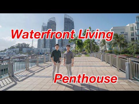 Penthouse Collections Singapore - Caribbean Duplex Penthouse - True Waterfront Living!!