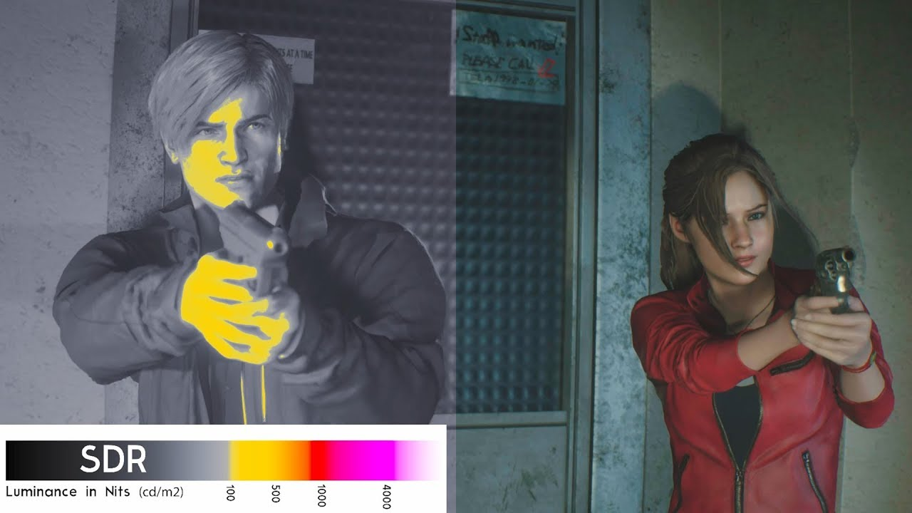 HDR settings - Resident Evil 2 - Giant Bomb