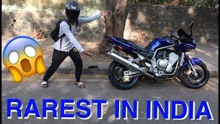 RAREST SUPERBIKE OF INDIA | 1st IN MUMBAI | YAMAHA FAZER 1000 CC |