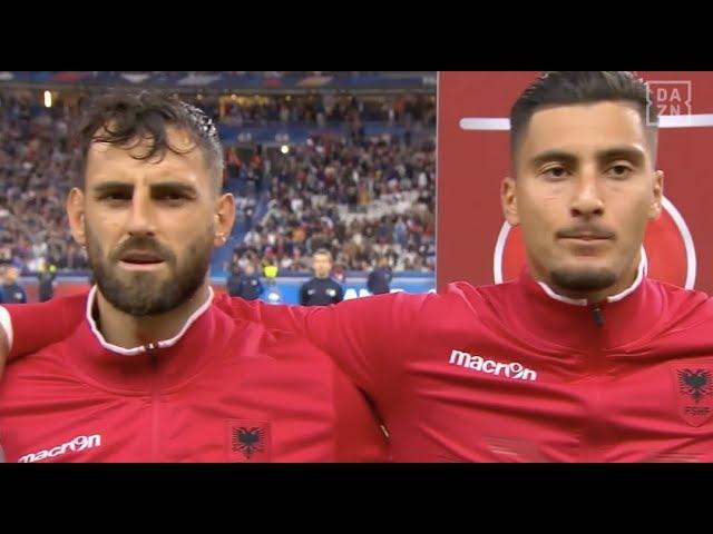 Fail des Jahres? UEFA spielt die andorranische Nationalhymne für die Albaner ab | DAZN