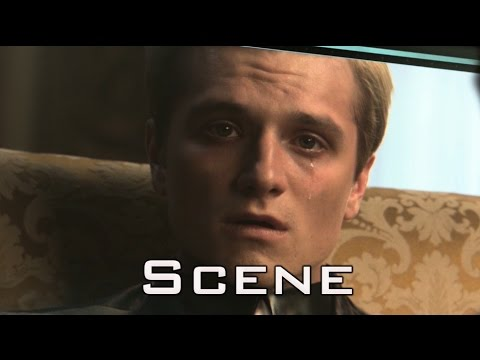 The Hunger Games Mockingjay Part 1 Second Interview Of Peeta Mellark In HD Full Scene YouTube