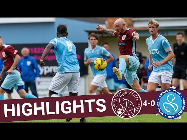 Extended Highlights: Taunton Town 4-0 Staines Town