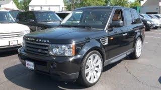 2008 Land Rover Range Rover Sport HSE Navi RES