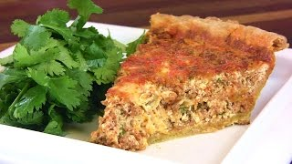 Chorizo & Cheese Quiche Recipe/ Spinach & Artichoke Quiche Recipe |cooking With Carolyn