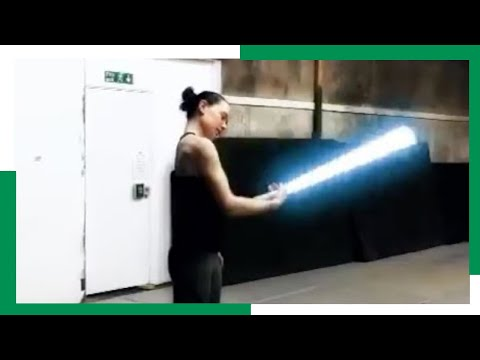 Download Youtube: Daisy Ridley Lightsaber Training for The Last Jedi