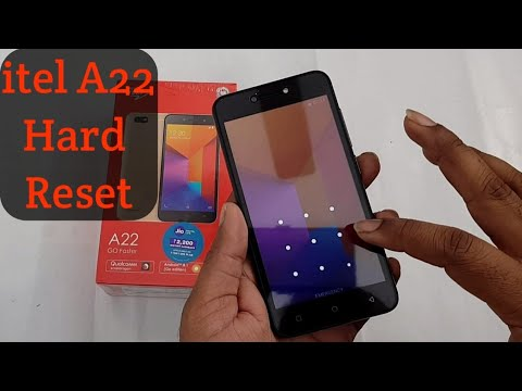 Itel A22 hard reset and pattern remove without pc
