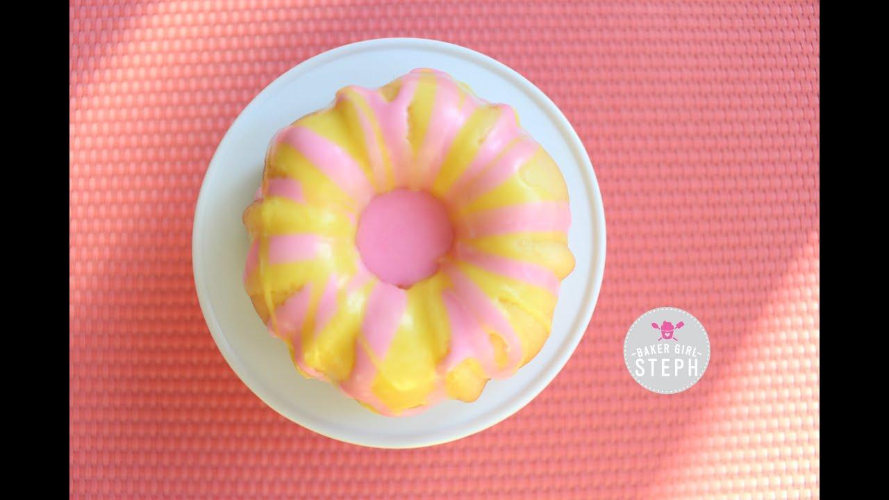 Pink Lemonade Bundt Cake