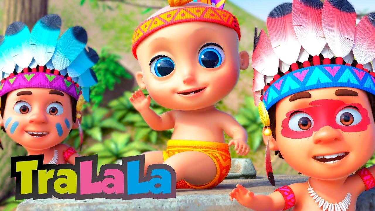 Zece indieni - Cântece pentru copii TraLaLa