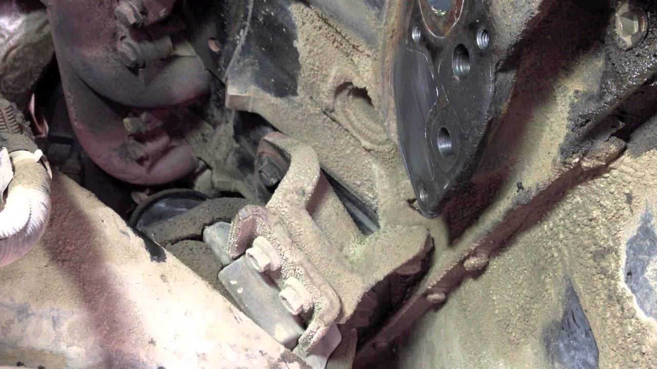 ford 7 3 powerstroke diesel oil leak from the oil cooler seals youtube [ 1280 x 720 Pixel ]
