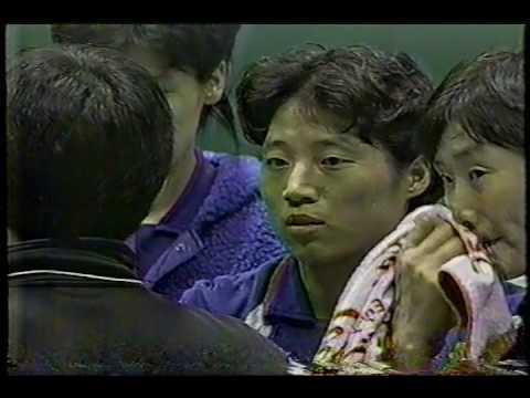 【Women Volleyball】【1995 World Cup】【Brazil vs Korea】【Partial】