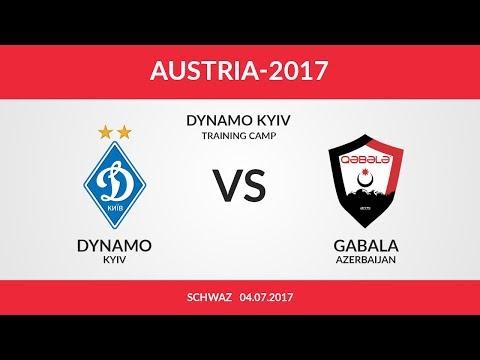Динамо Киев - Габала 2:1 видео