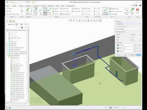 PTC Creo 2.0 Piping Extension