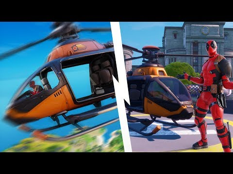 How To Find & FLY CHOPPA'S In Fortnite! All Helicopter Locations & Map Changes! (Chapter 2 Season 2)