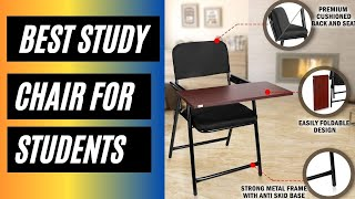 ✅ Best Study Chair For Students With Writing Pad 2021 🏆 Study Chair For Long Hours [TOP 5] ⭐⭐⭐⭐⭐