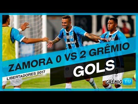 [GOLS] Zamora-VEN 0x2 Grêmio (Libertadores 2017) l GrêmioTV