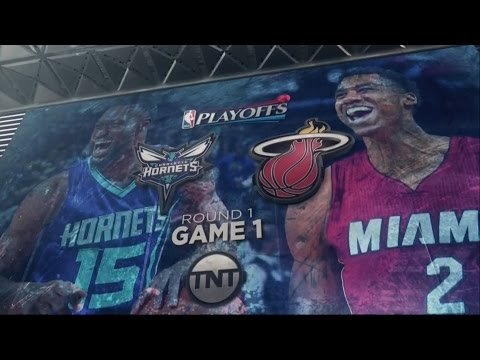 April 17, 2016 - TNT - Playoffs Rd.1 Game 01 Miami Heat Vs Charlotte Hornets - Win (01-00)(Game HL)
