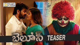 Balloon Telugu Movie Official Teaser || Anjali, Raj Tarun, Jai - Filmyfocus.com