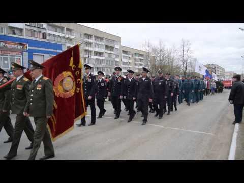 Торжественное шествие на площадь Славы. Карпинск, 9 мая/ Www.vkarpinsk.info
