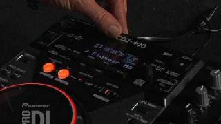 CDJ-400 Introduction