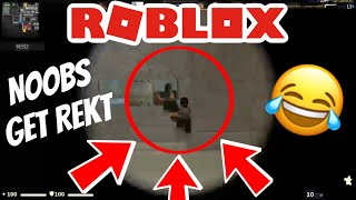 ROBLOX Episode 5: Destroying Noobs in CSGO (must watch)
