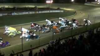 "Atomic Speedway ""The Night The Stars Come Out"" All Star Sprints $5,000 To Win 7-3-2014"