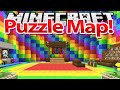 Floare la URECHE - HARTA SIMPLA - Minecraft: Puzzle MAP !