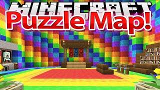 Floare la URECHE - HARTA SIMPLA - Minecraft Puzzle MAP !