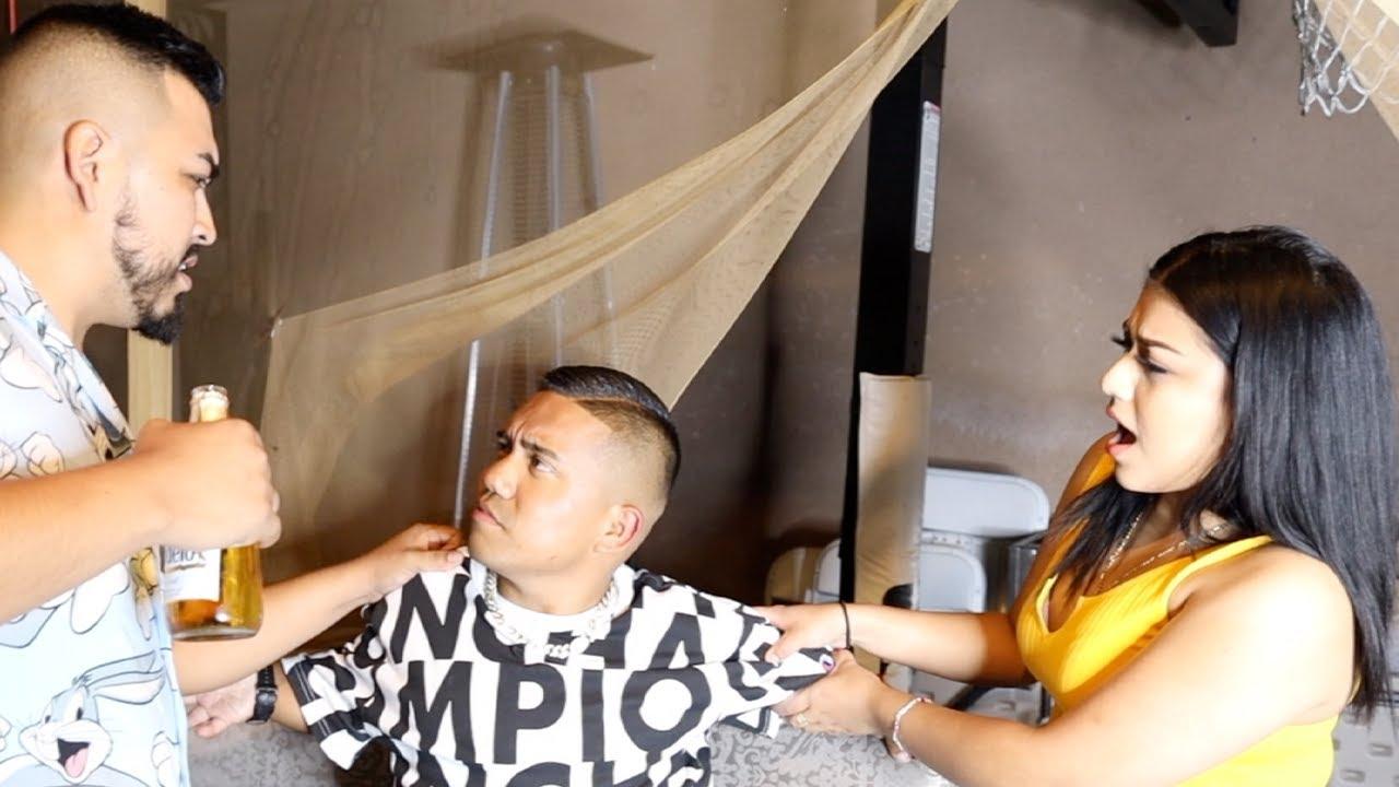 Cuando te presentan al cuñado ft @Las Hermanas Estrada @Chapito Bravo