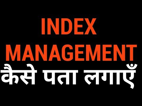 🔴🔴 Index Management in Stock Market - Live Q&A with Nitin Bhatia (HINDI)