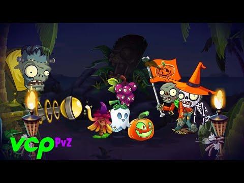 Plants vs. Zombies 2 - HALLOWEEN Update 5.4.1: Lawn Of Doom + Witch Hazel | APK, OBB & Full PP.DAT