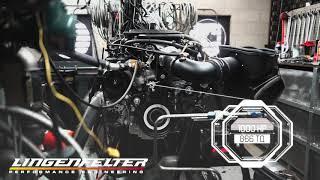 1000 hp LT4  Engine Dyno Run - Lingenfelter