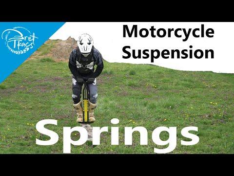 Motorcycle Suspension - Springs