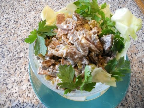 салат богатырь с сердцем рецепт
