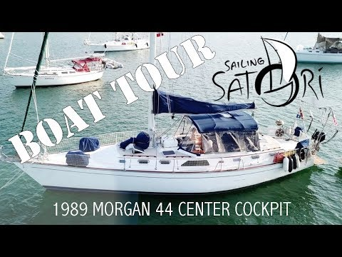 Boat Tour - 1989 Morgan 44 Center Cockpit (Sailing Satori)