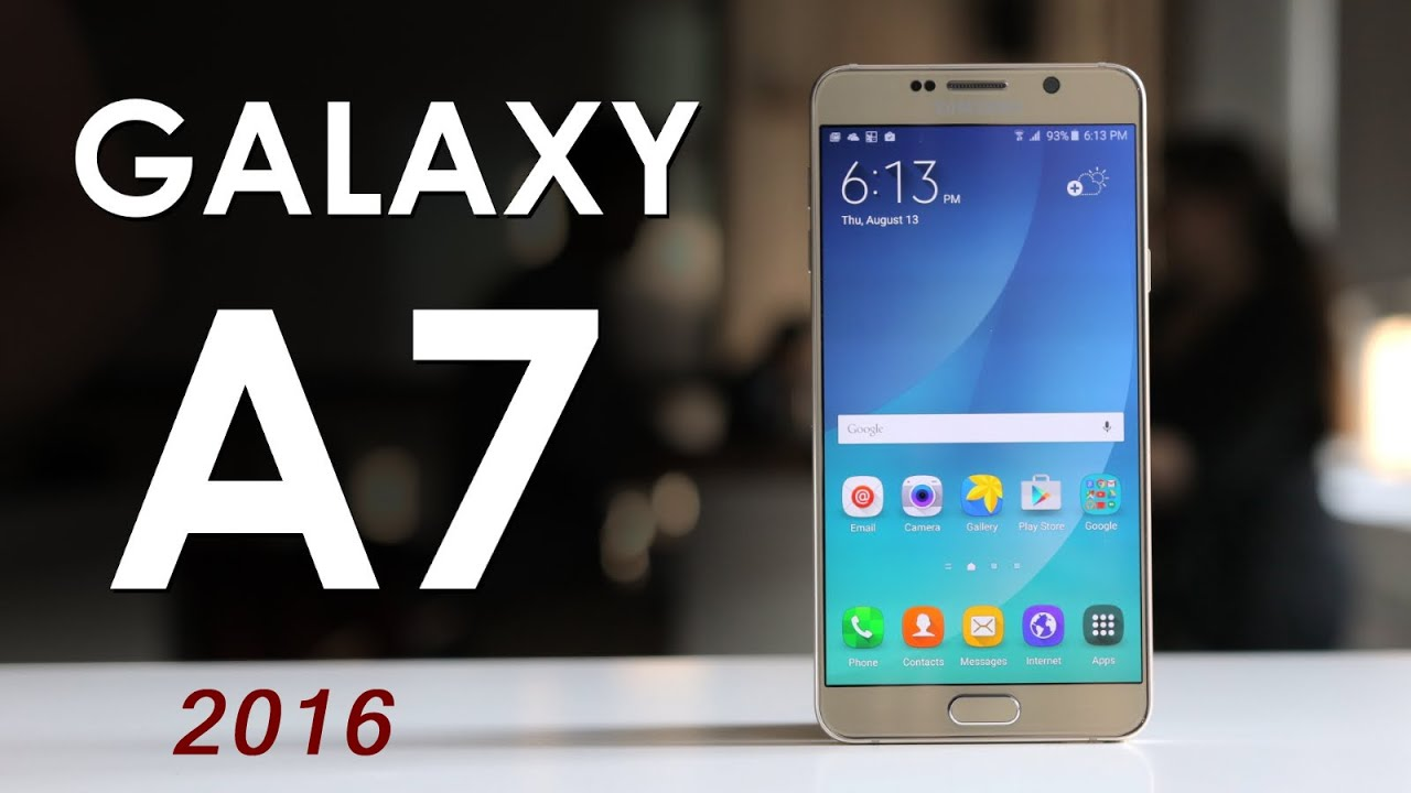 Samsung Galaxy A7 2016 New Smartphone Good Look Rrview Youtube