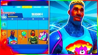 "NEW Fortnite SEASON 4 SKINS LEAKED! ""BRITE GUNNER"" + ""STEELSIGHT"" SKINS FOUND! (v3.6 Items Found)"