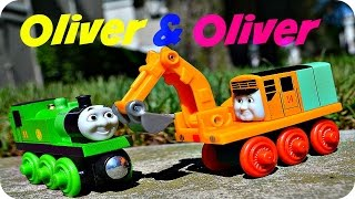 2015 - OLIVER & OLIVER Thomas Wooden Railway Toy Train Sodor Legend Of The Lost Treasure Review
