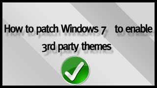 how to install custom themes on windows 7 full tutorial