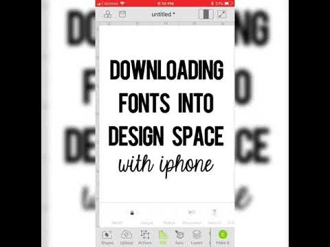 how to download font on ipad
